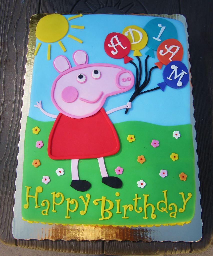 Birthday Cake For 3 Year Old Akeria