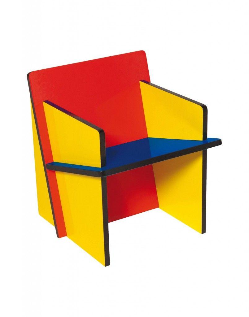 Bauchair la sedia per bambini in stile bauhaus for Bauhaus arredamento