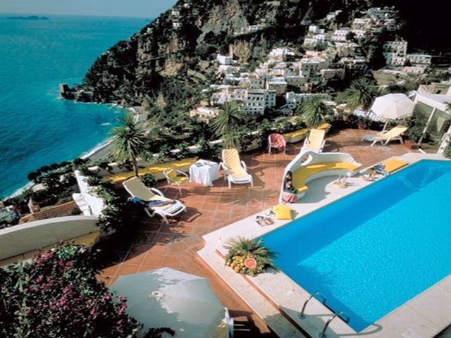 Our hotel when we were in Positano!.