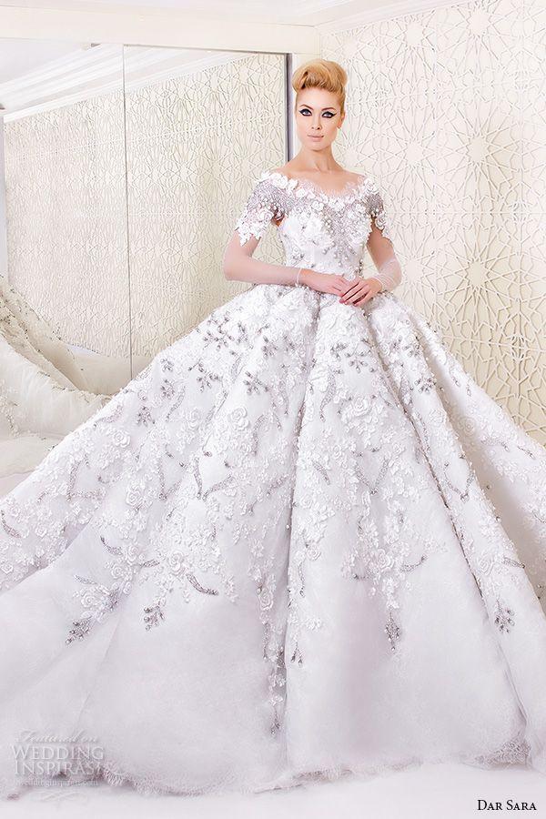 Dar Sara 2016 Wedding Dresses | Wedding Gowns I adore! | Pinterest ...