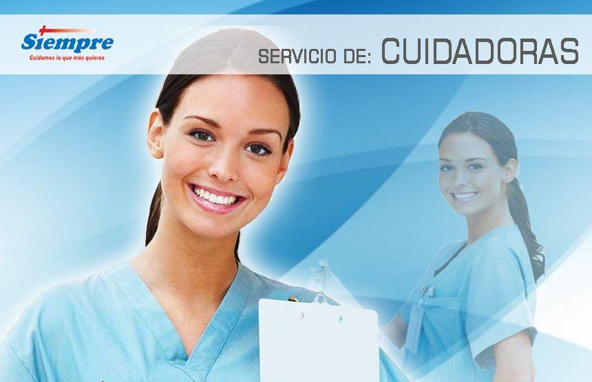 Nuestras #Cuidadoras apoyan a los pacientes o ancianos en su higiene personal, movilización y acompañamiento en general. ¿Dudas? Llámanos al 53939824