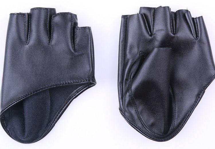 COM LINK PARA COMPRAR| Meio dedo de couro sintético Fingerless Driving mostrar Jazz luvas para mulheres homens em Luvas de Roupas e Acessórios no AliExpress.com | Alibaba Group