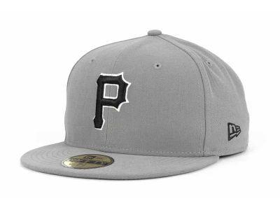 New Era 59Fifty MLB Gray BW Cap
