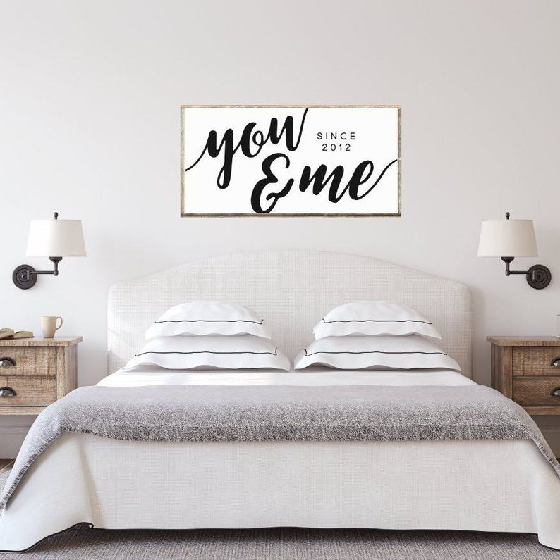 INSTANT DOWNLOAD! All Of Me All Of You Printable For Love Master Bedroom Wall Over Bed Marriage