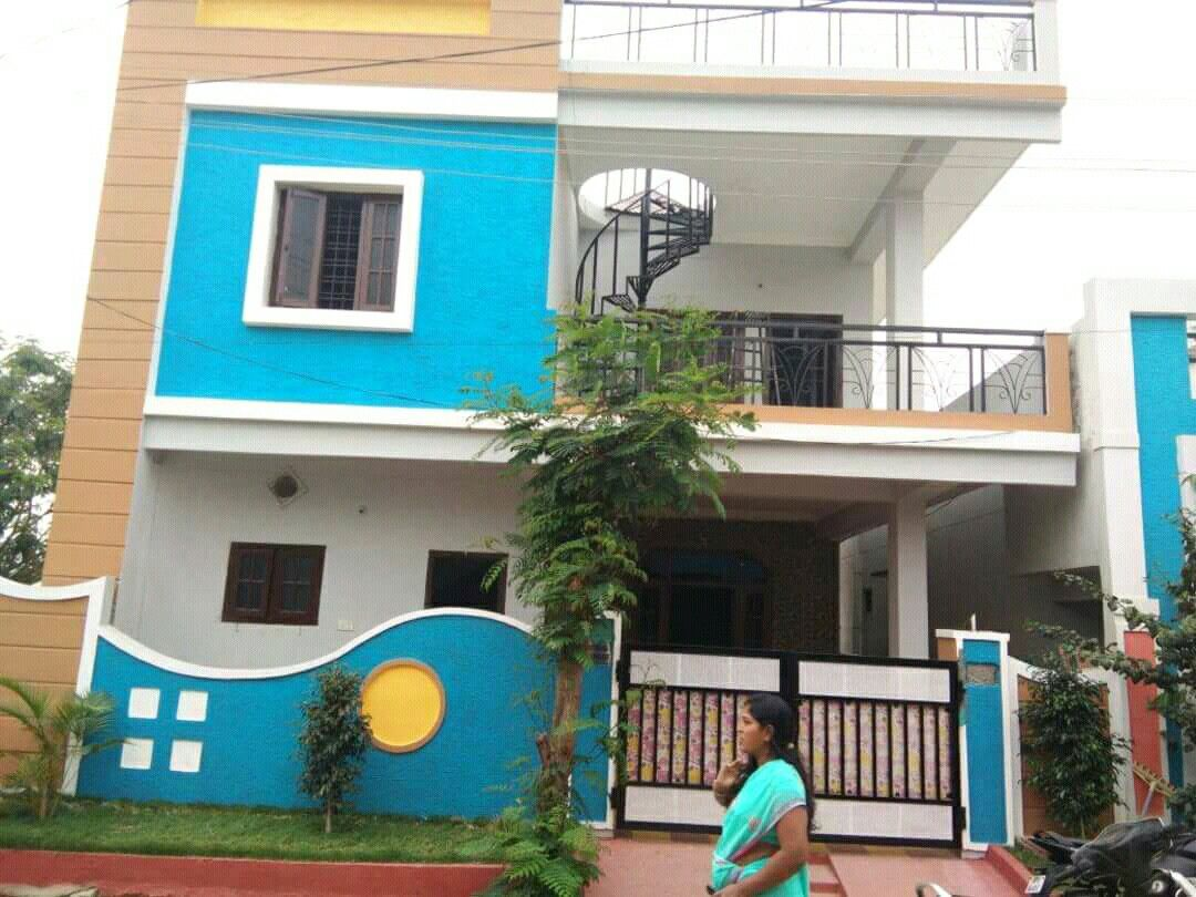 G+1 elevation design  | Oc | House front design, Front