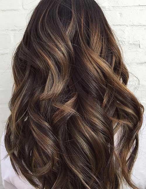 25 balayage frisuren für schwarzes haar - frauen blog