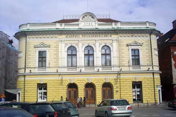 Die Philharmonie in #Ljubljana #Slowenien