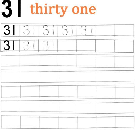 numbers31 worksheet - Yahoo Image Search Results | Worksheets free ...