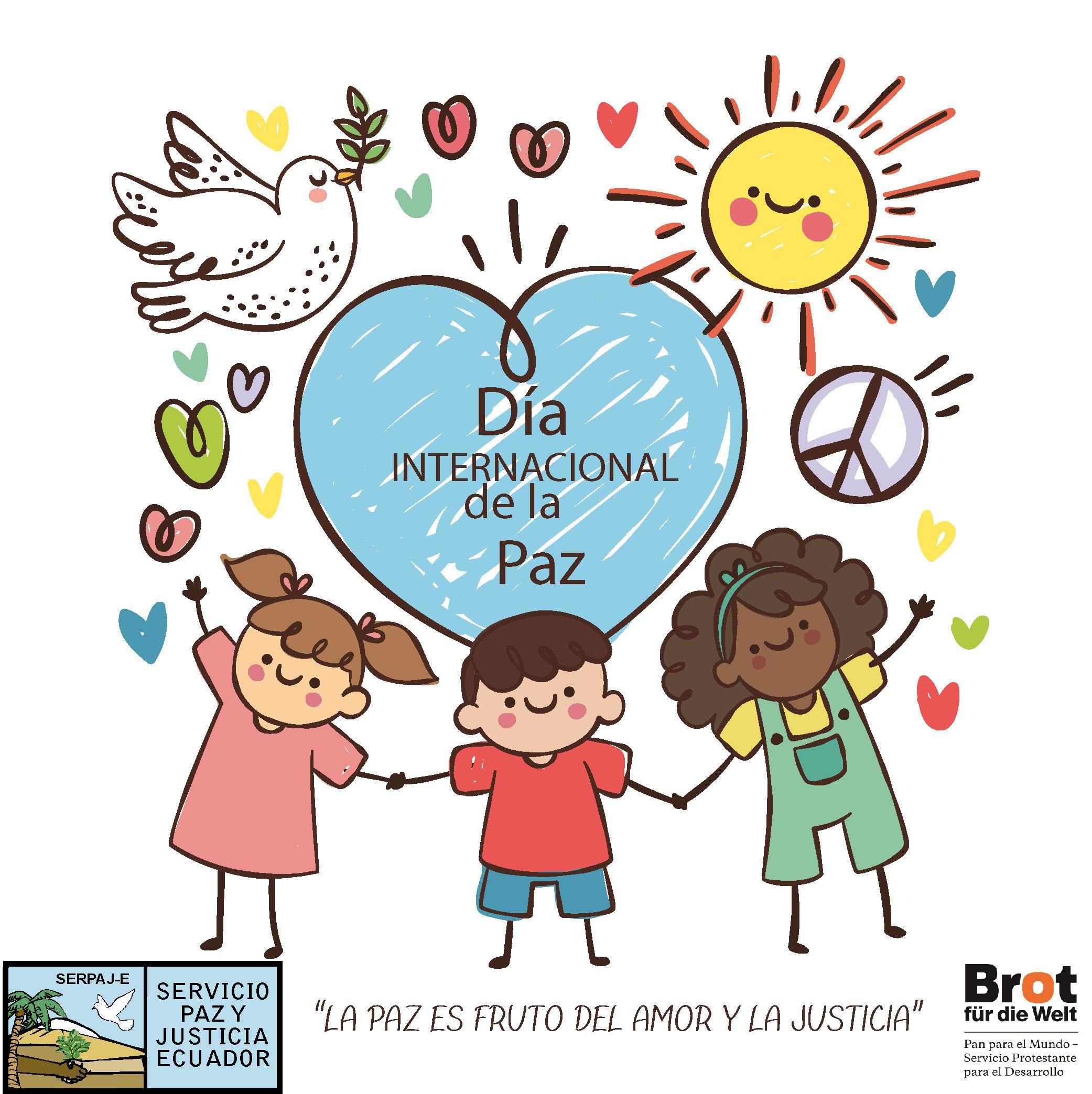 Stickers Dia De La Paz Dibujos De La Paz Ninos De La Mano