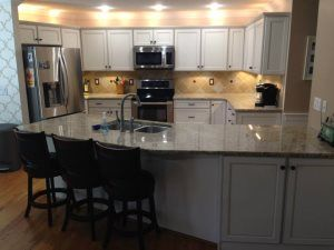 Pro 304541 Carolina Custom Surfaces Greensboro Nc 27409 Kitchen Island