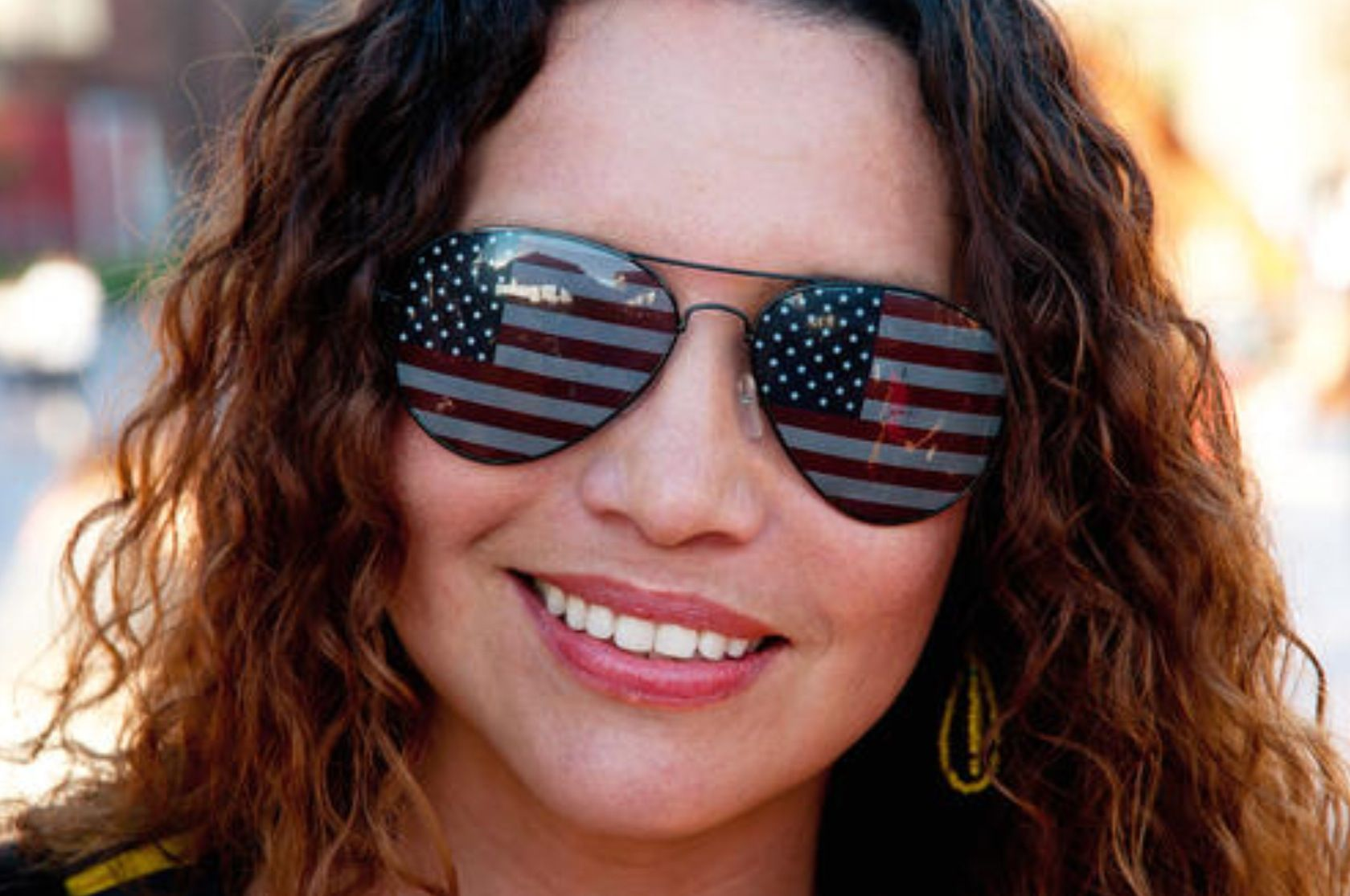 Cool Fourth of July sunglasses!!