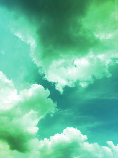 Sky High Art Sky Aesthetic Green Aesthetic
