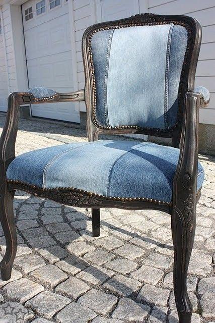 silla-recubierta-con-jeans-viejos
