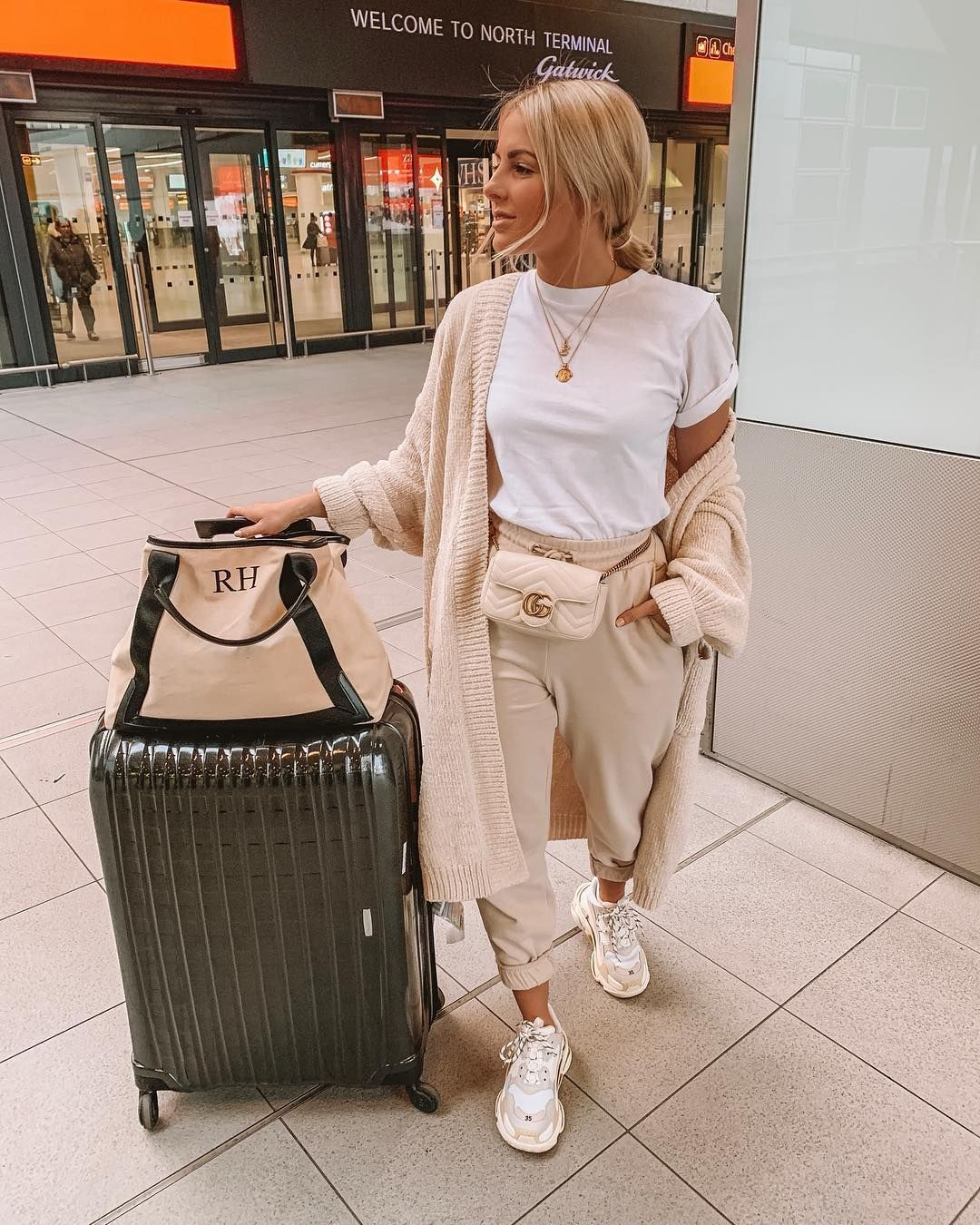 "Ruby Holley on Instagram: ""Is it weird that I plan my airport outfit more than I plan my holiday outfits? 🤷🏼‍♀️ off to Milan tonight, would love any recommendations…"""