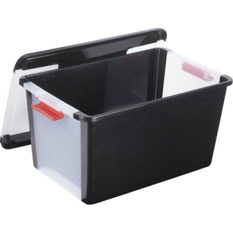 Boite De Rangement B Box En Plastique L 55 X P 35 X H 28 Cm 40 L Boite De Rangement Rangement Boite