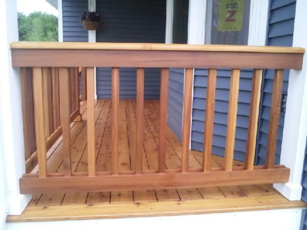 Wait For Dry Weather To Stain A New Cedar Deck Doityourself Com With Images Cedar Deck Wooden Decks Patio Deck