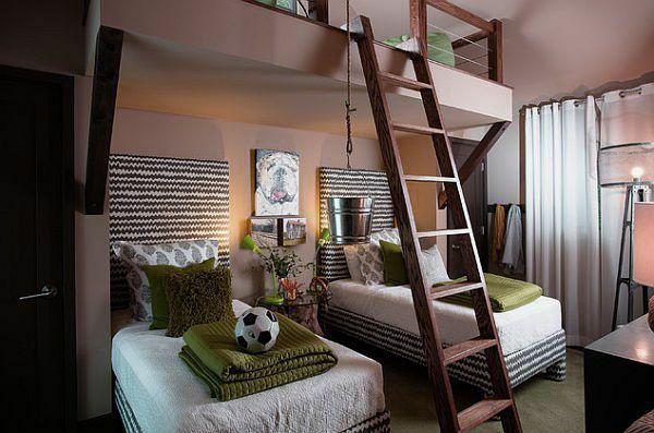 jungenzimmer mit mehr schlafraum möbelideen Pinterest - jugendzimmer schwarz wei