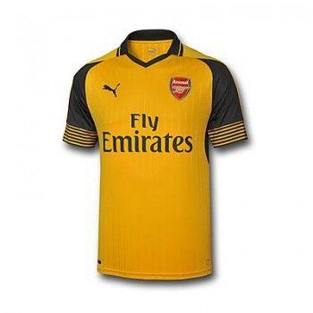 62240fd7e Arsenal 16-17 Bortatröja Kortärmad #Fotbollströjor | Arsenal 16-17 ...