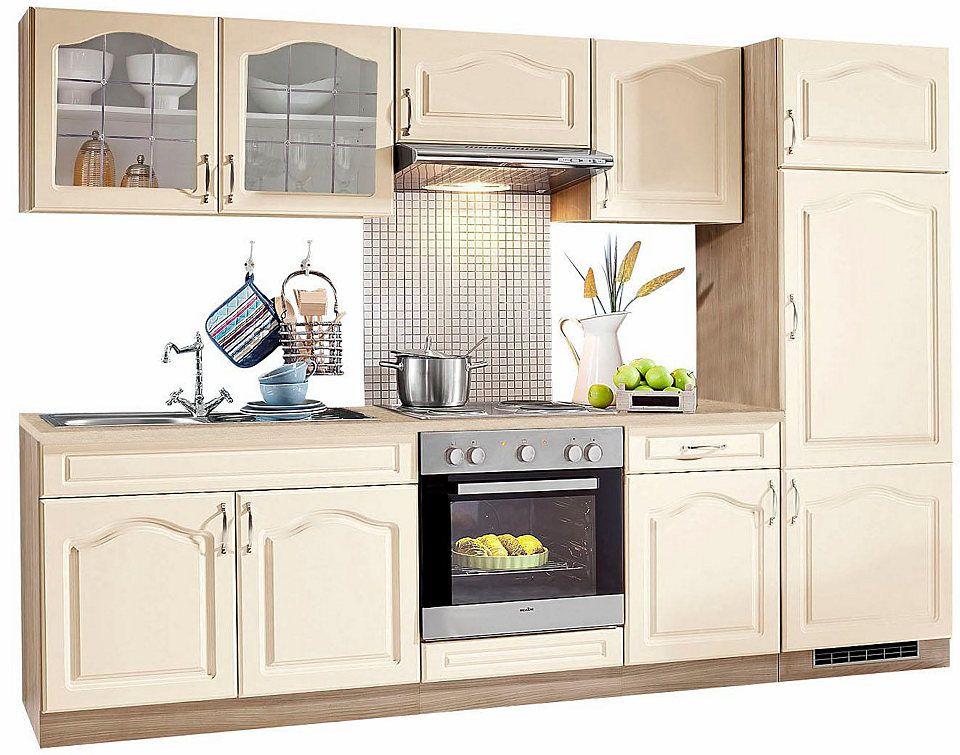 Küchenzeile »Linz«, Breite 270 cm, mit Edelstahl-Kochmulde Jetzt - küchenzeile 160 cm