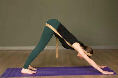 a straplover's compendium practice for the legs  yoga