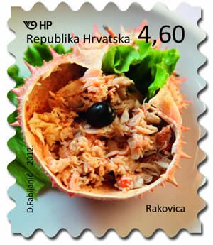 gastronomy stamps