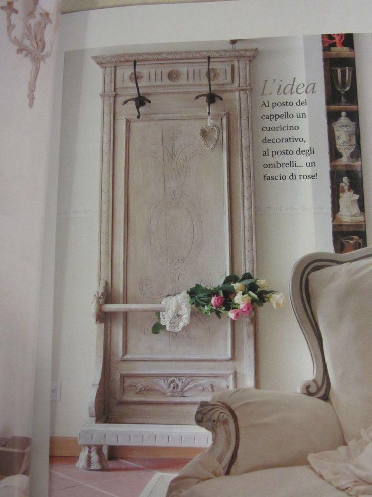 Riciclare vecchie porte in stile shabby chic e non solo! Boas - shabby chic küche