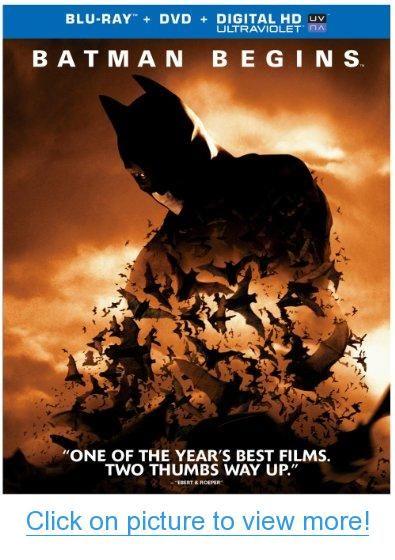 Batman Begins Blu Ray Batman Pinterest