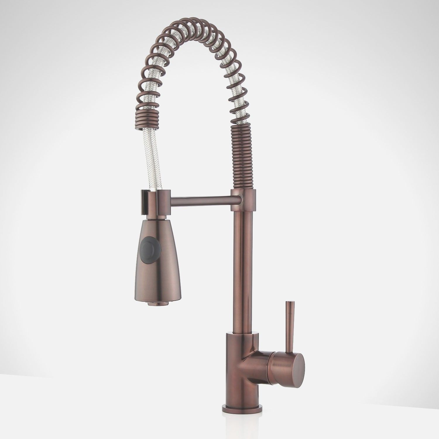 Oil Rubbed Bronze Pull Down Kitchen Faucet Aquasource Oil Rubbed