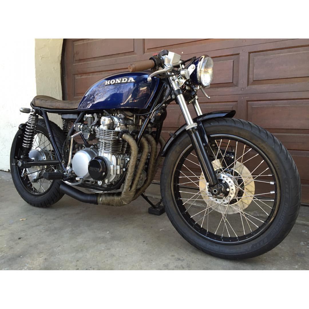 @alchemymotorcycles  Honda CB500