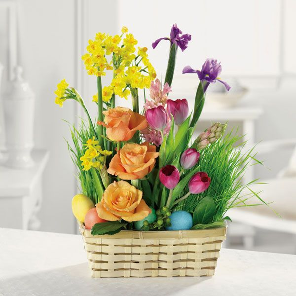 flower arrangement ideas | how to celebrate easter with easter