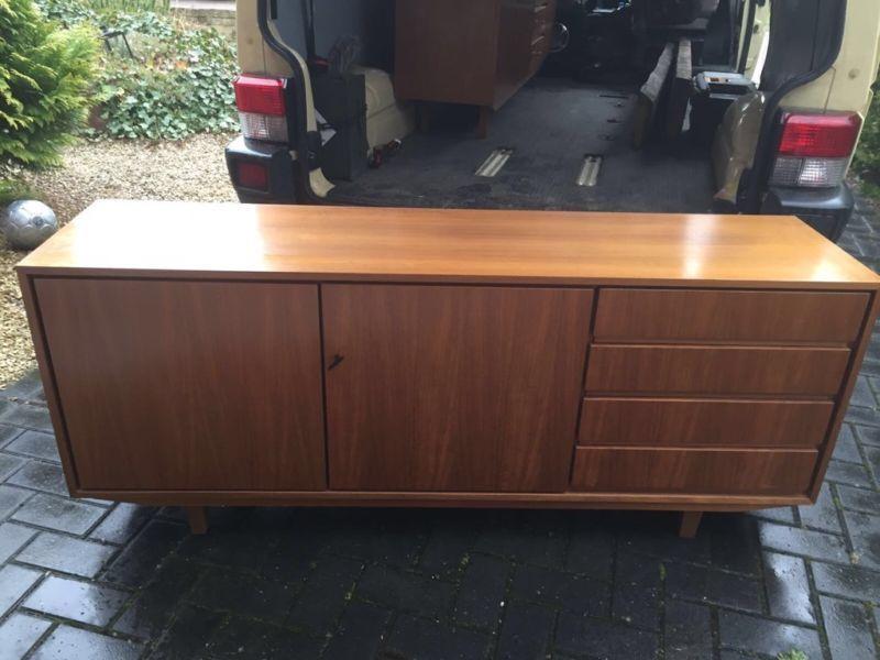 Sideboard teak 60er Jahre 164x40x68 Retro, Gebraucht