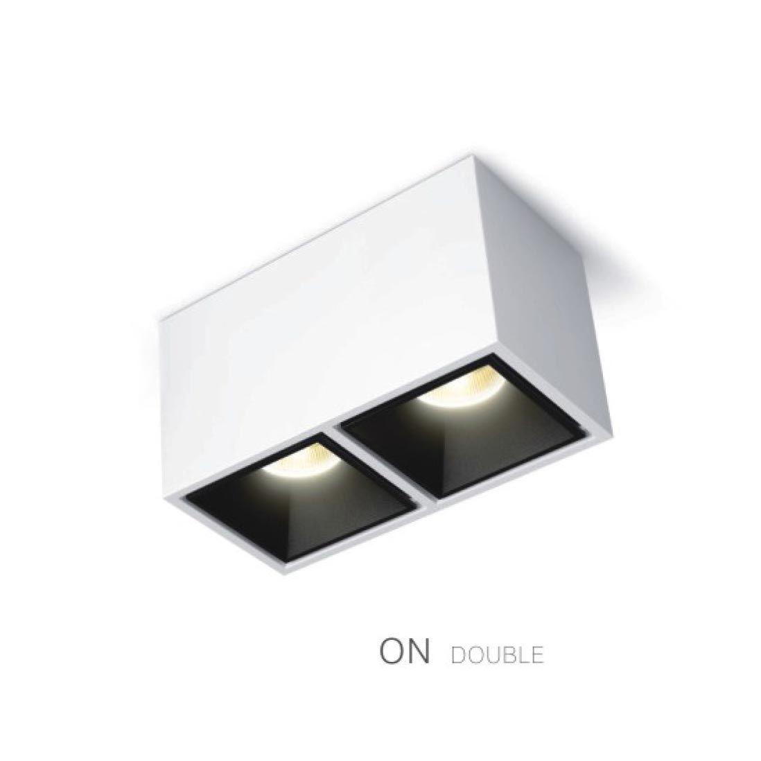 Cubic Shape Spotlight It Is A Modern Double Spotlight Lighting Fixture For Nice Apartm Lighting Design Interior Spotlight Lighting Contemporary Light Fixtures