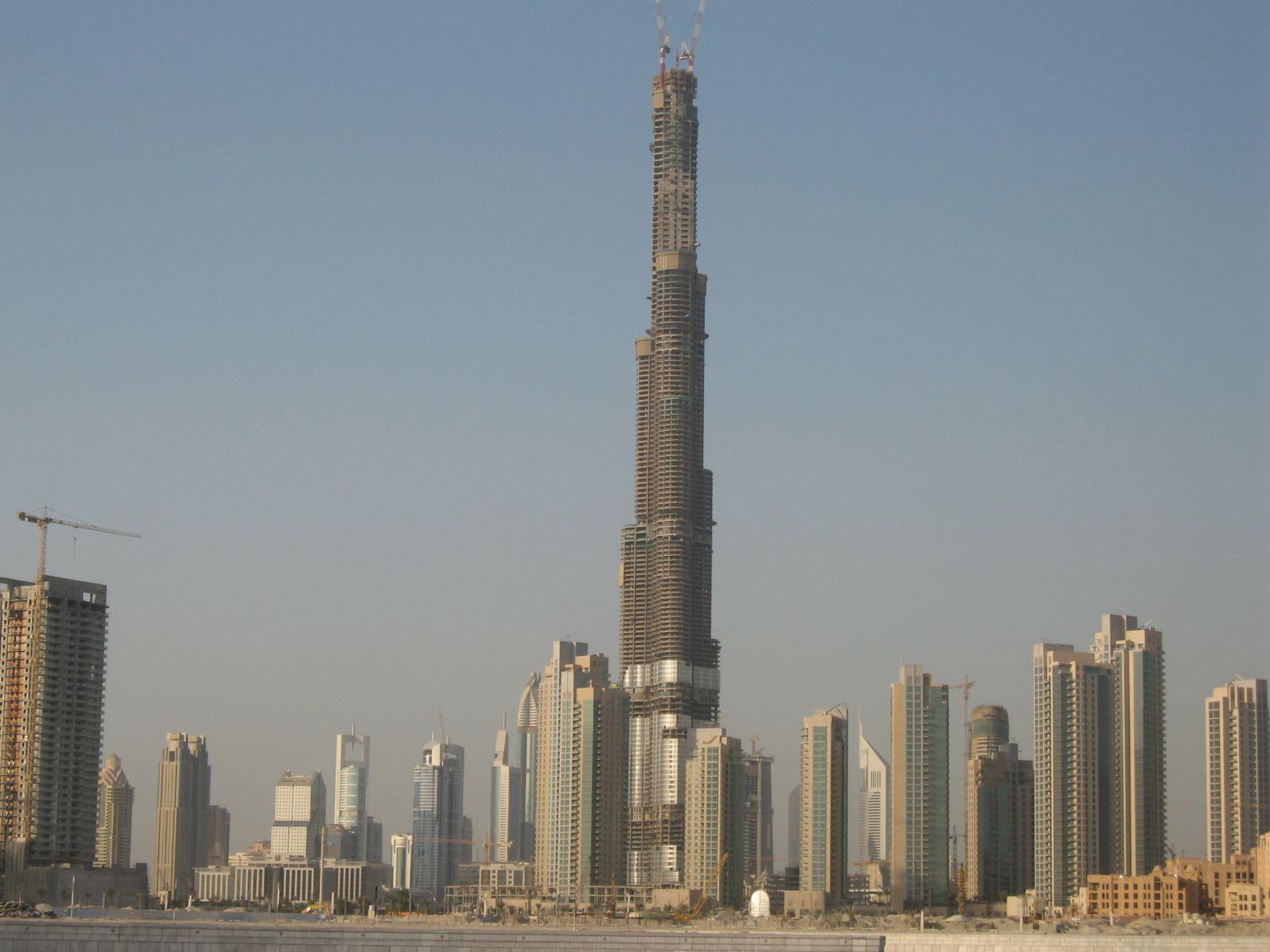 Burj Khalifa seen in October 2007