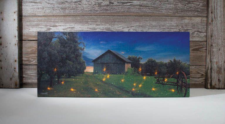 Canvas Prints Led Lights
