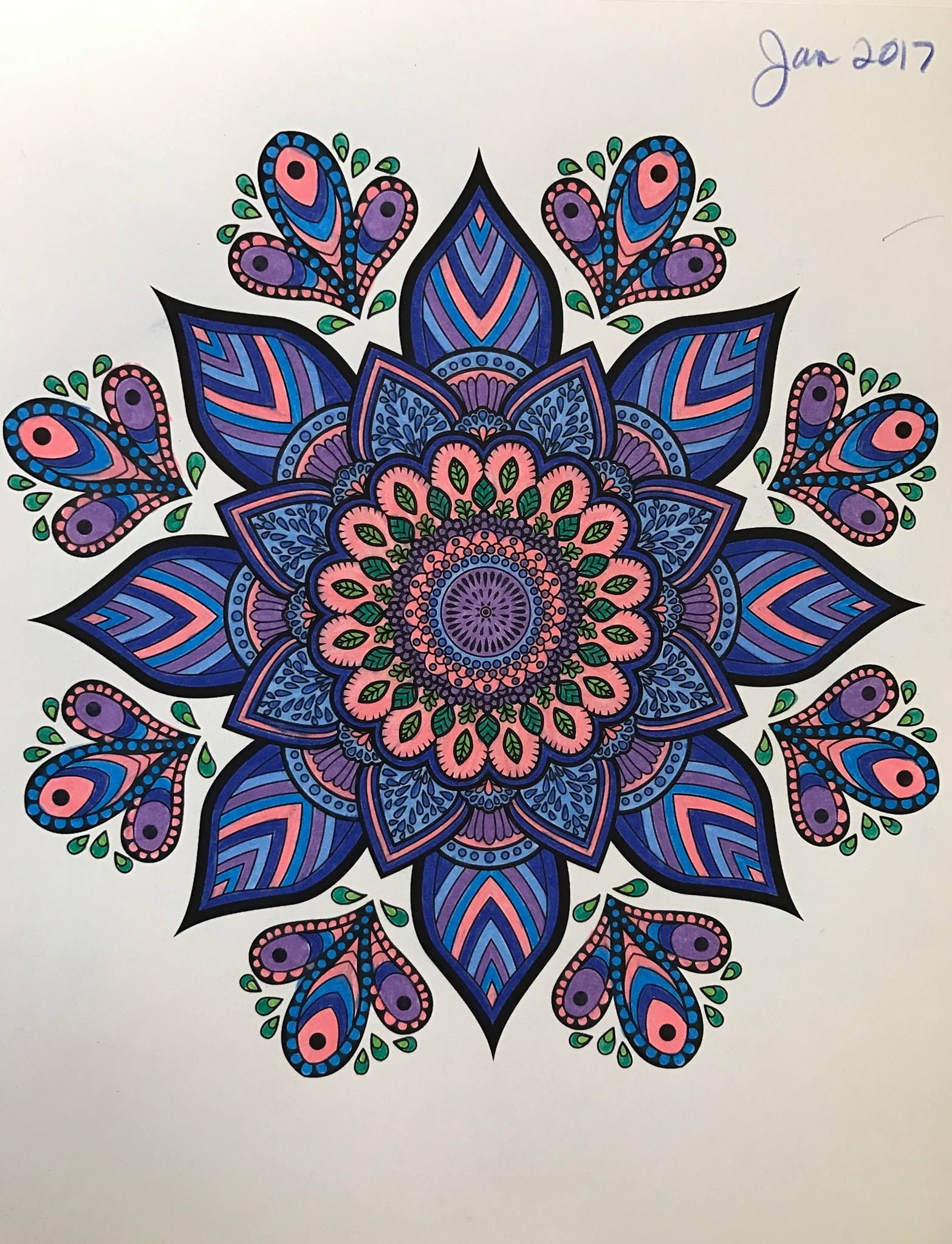 - ColorIt Mandalas Volume 2 Colorist: Debbie Christensen Seddell