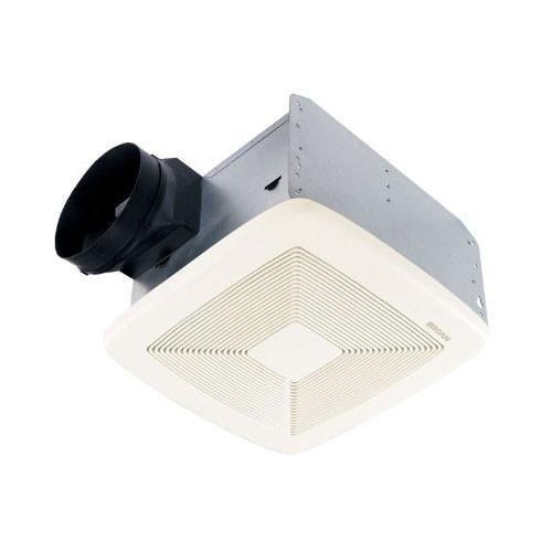 Broan QTXE110 Powerful 110 CFM Ultra Silent White Bath Ventilation