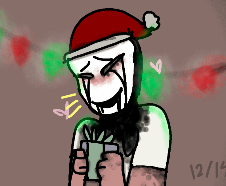 SCP 035 christmas Drawn on flipaclip just one layer have a