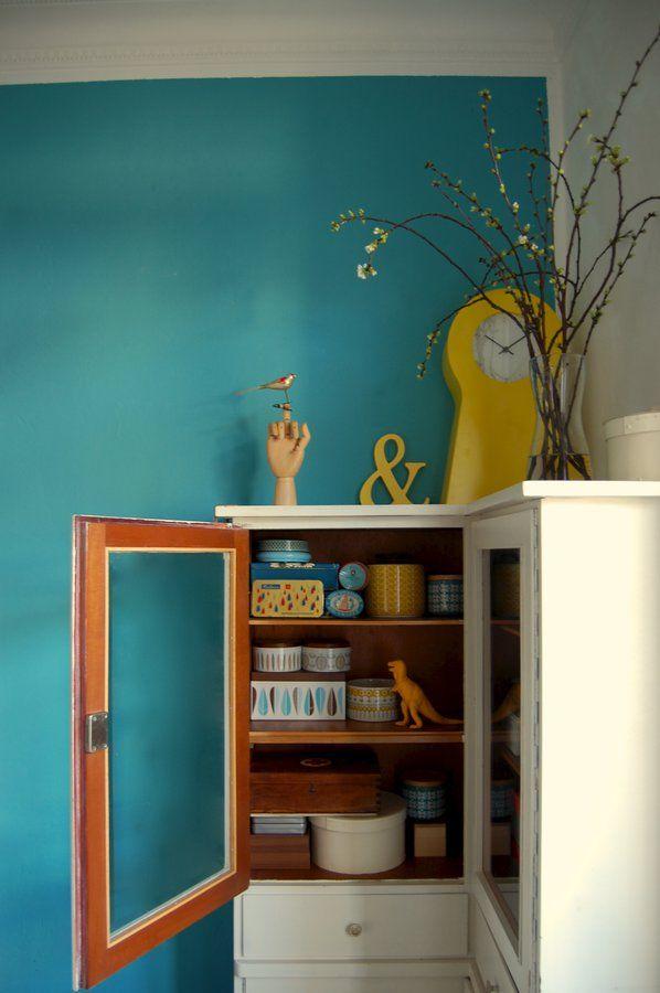 Wohnideen Schlafzimmer Türkis freudenbringer arbeitszimmer wandfarbe und wohnideen