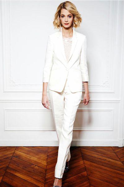 Tailleur Style Blazers De Suits Wedding Mariée z1pq8SzxB