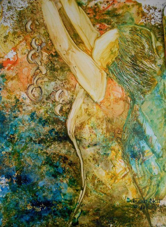 Contemporary Art Christian Art Prophetic Art Faceless Etsy