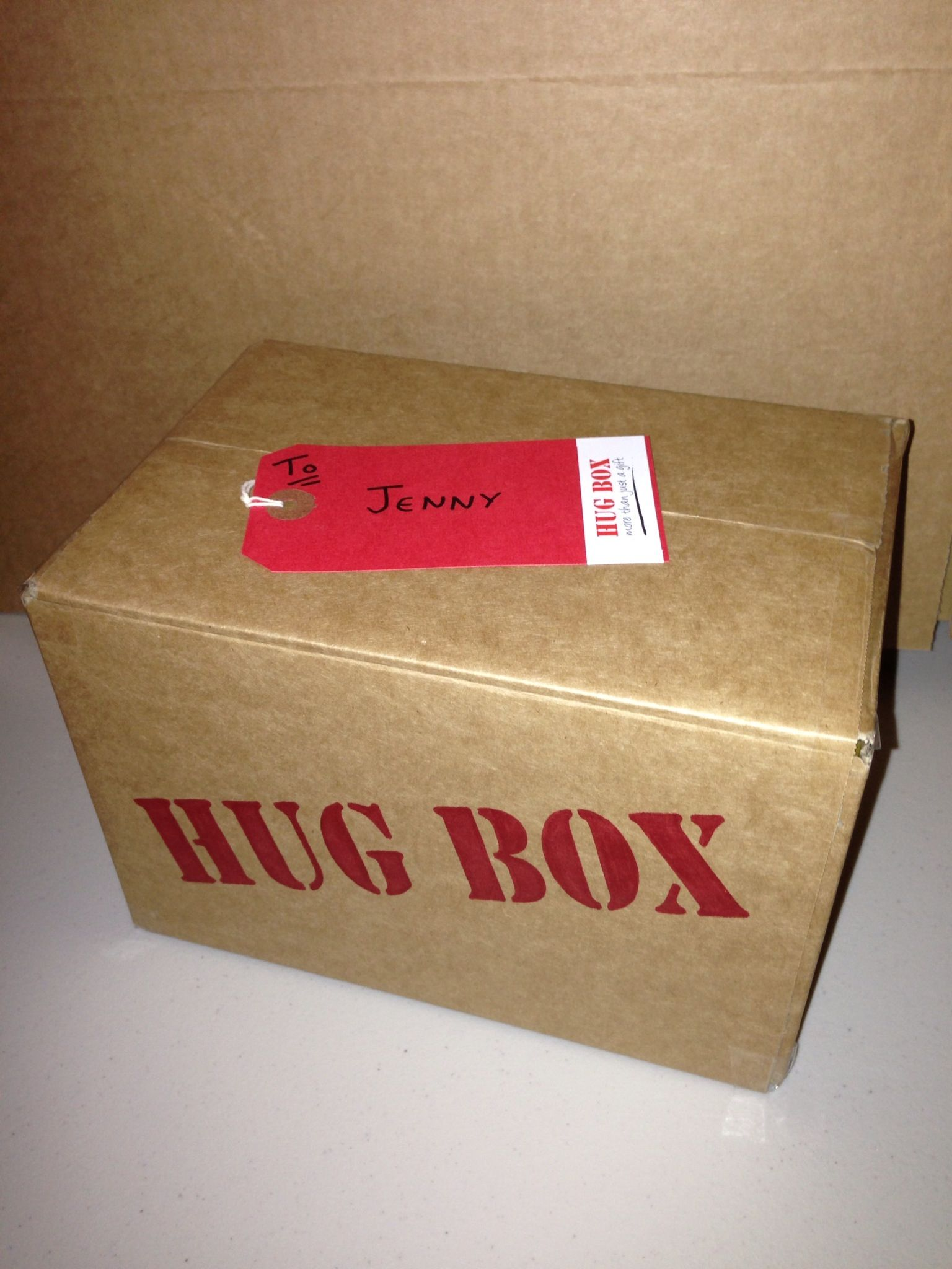 Hug Box Ready For Despatch Sweets Treats Chocolates Delivered Hampers Gifts Birthdays Parties Weddings Get Well Congratulations HugBoxcouk