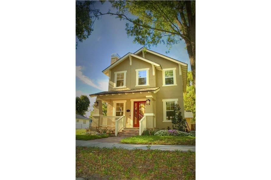 3 Bedrm 1586 Sq Ft Craftsman House Plan 116 1007 House