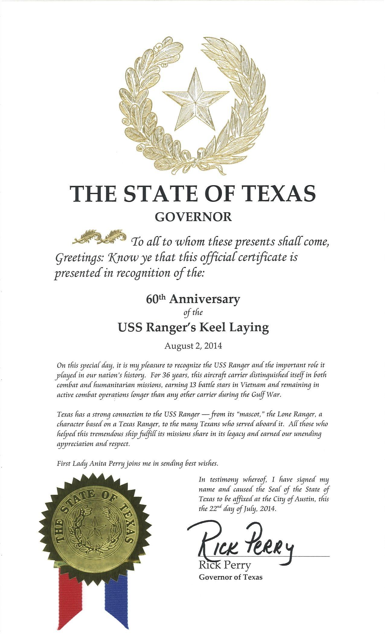 USSRangerDay! Texas governor, Emergency medical