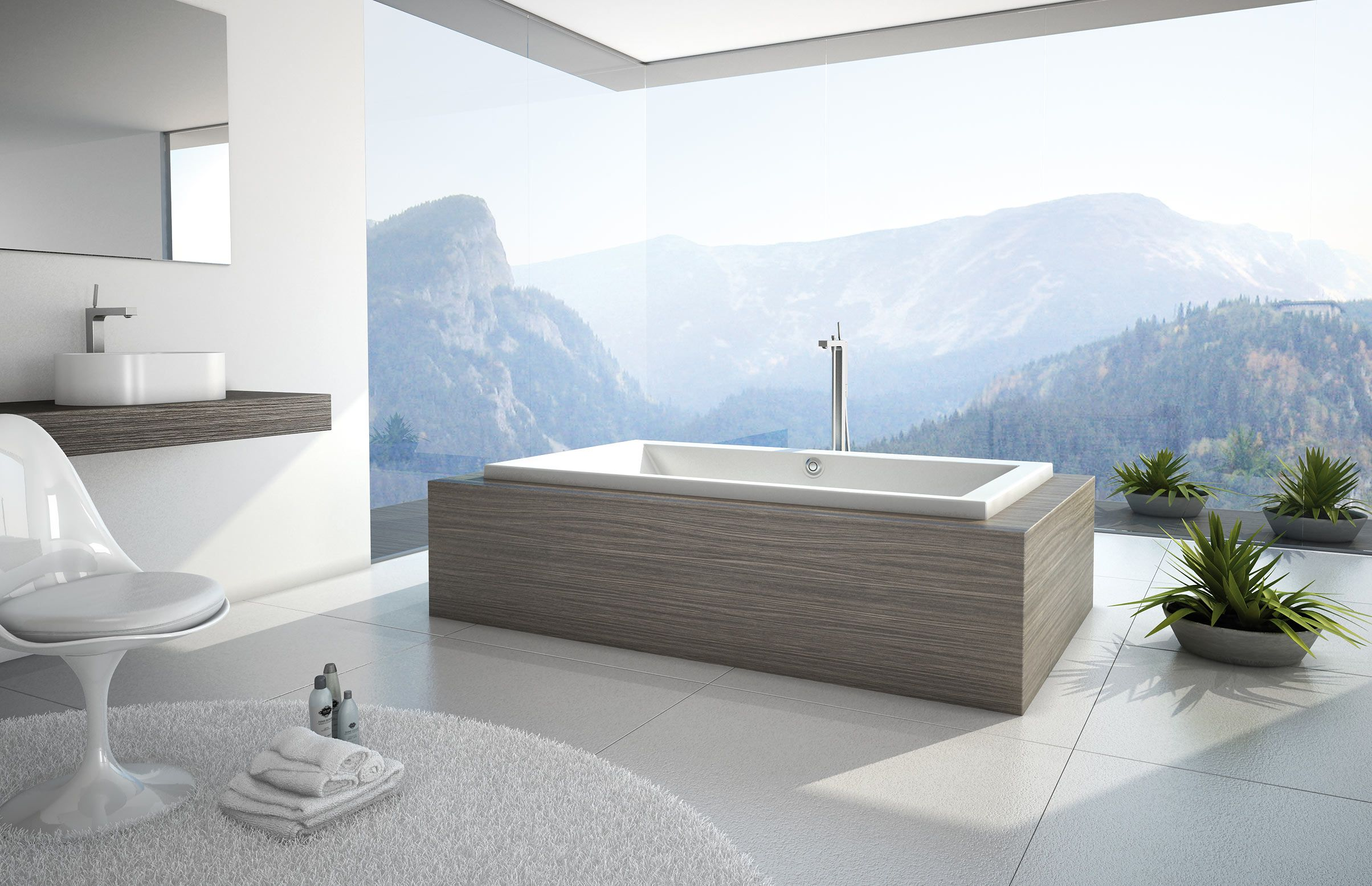 KAVA Drop-in bathtub - MAAX Collection | Bathroom Design | Pinterest ...