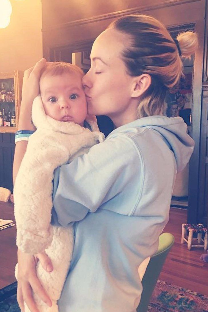 Jason Sudeikis And Olivia Wilde S Baby Girl Only Seems To Get Cuter As Time Goes By Best Funny Pictures Celebrity Baby Pictures Olivia Wilde
