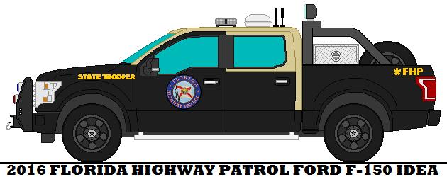 2016 Florida Highway Patrol Ford F 150 Idea By Mcspyder1