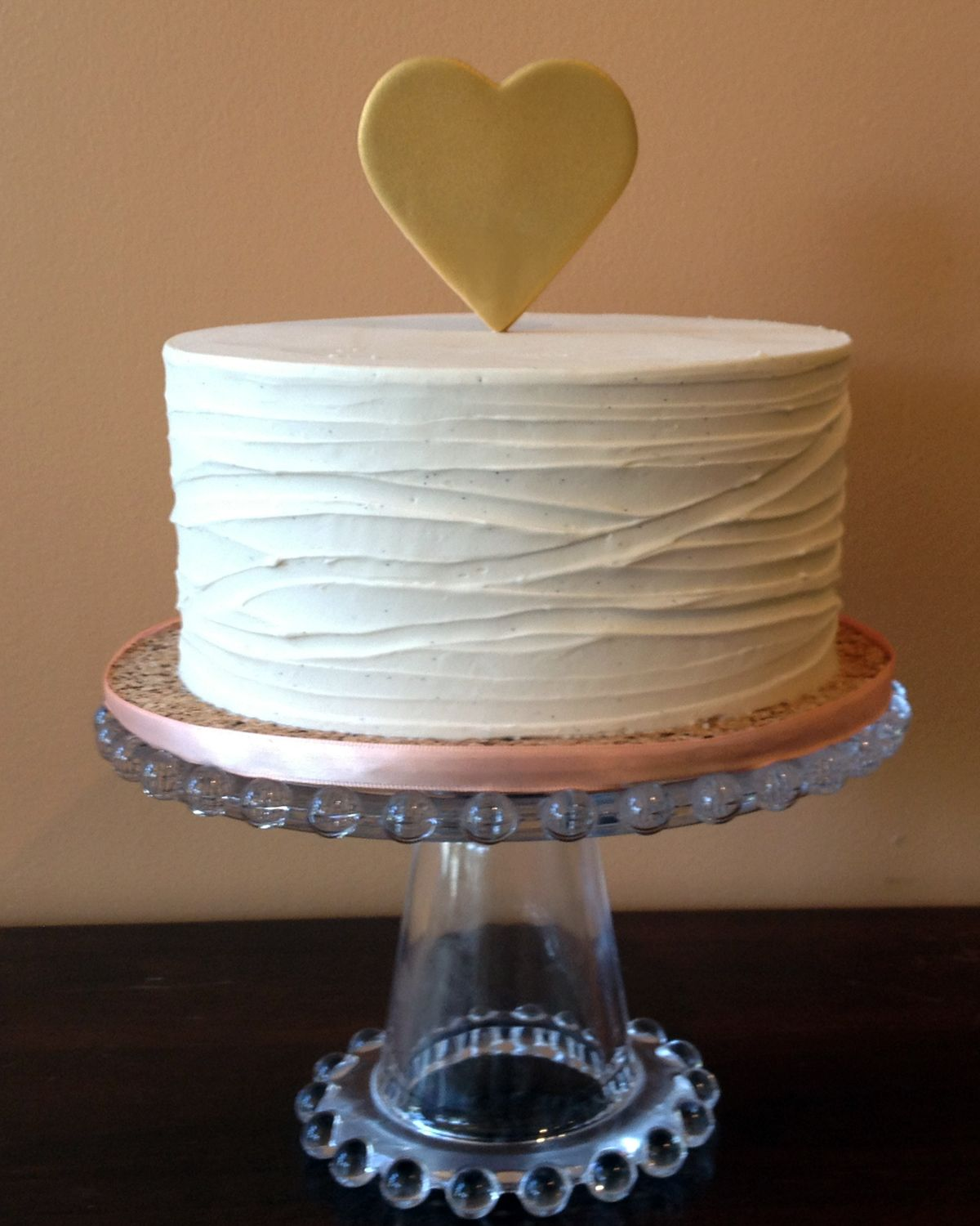 Treat yourself to our new simple treat signature buttercream cake