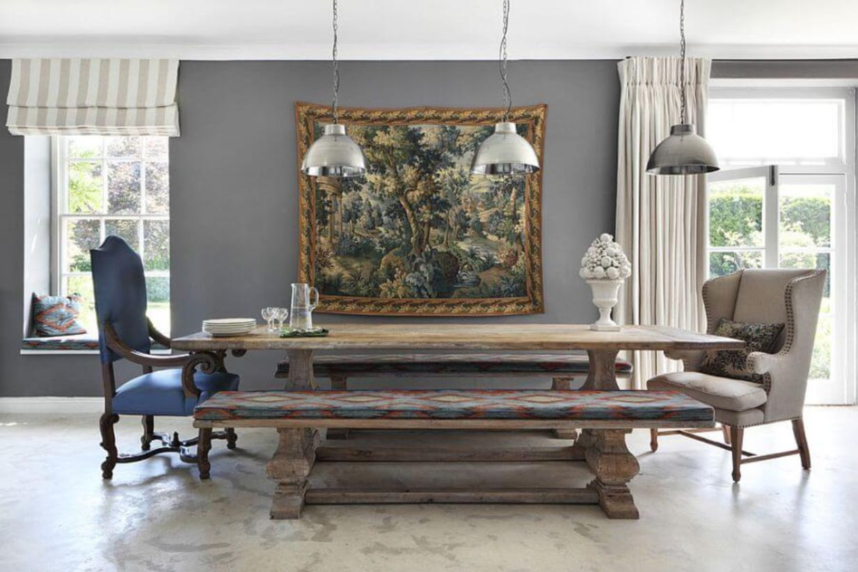 43 Simply and Timeless Farmhouse Dining Room Ideas images