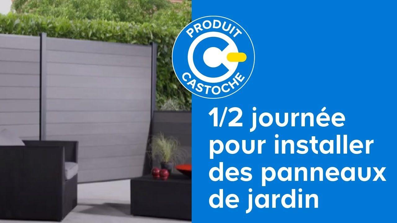 Installer des panneaux de jardin en 1/2 journée (Castorama ...