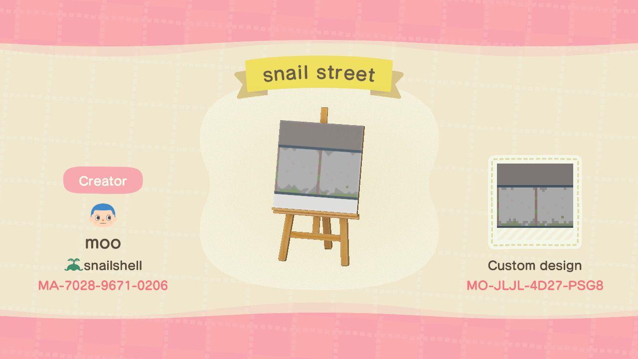 Moo On Twitter Acnh Street Pattern Animal Crossing Inspiration Acnh Street